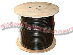 ROLLO 300 METROS CABLE RG59