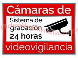 CARTEL DISUASORIO DE VIDEO VIGILANCIA